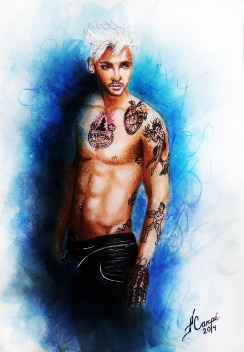 Bill Kaulitz by Twincestoxa